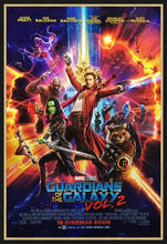 Load image into Gallery viewer, An original movie poster for the film Guardians of the Galaxy 2