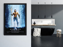Load image into Gallery viewer, An original movie poster for the film Aquaman