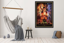Load image into Gallery viewer, An original movie poster for the 2019 Disney film Aladdin