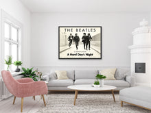 Load image into Gallery viewer, An original movie poster for the Beatles' film A Hard Day's Night