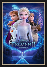 Load image into Gallery viewer, An original movie poster for the Disney film Frozen II / 2