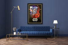 Load image into Gallery viewer, An original Real D / IMAX movie poster for Star Wars The Rise of Skywalker
