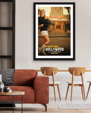 Load image into Gallery viewer, An original movie poster for the Tarantino film Once Upon A Time In Hollywood