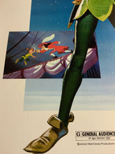 Load image into Gallery viewer, An original movie poster for the Disney film Peter Pan