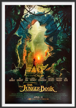 Load image into Gallery viewer, An original movie poster for the Disney film The Jungle Book