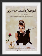 Load image into Gallery viewer, An original movie poster for the Audrey Hepburn film Breakfast at Tiffany's