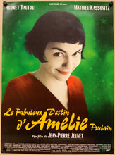 Load image into Gallery viewer, An original movie poster for the film Amelie