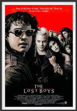 Load image into Gallery viewer, An original movie poster for the film The Lost Boys