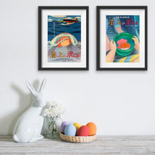 Load image into Gallery viewer, Two original Japanese chirashi posters for the Studio Ghibli film Ponyo