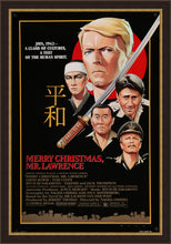 Load image into Gallery viewer, An original movie poster for Merry Christmas Mr Lawrence starring David Bowie