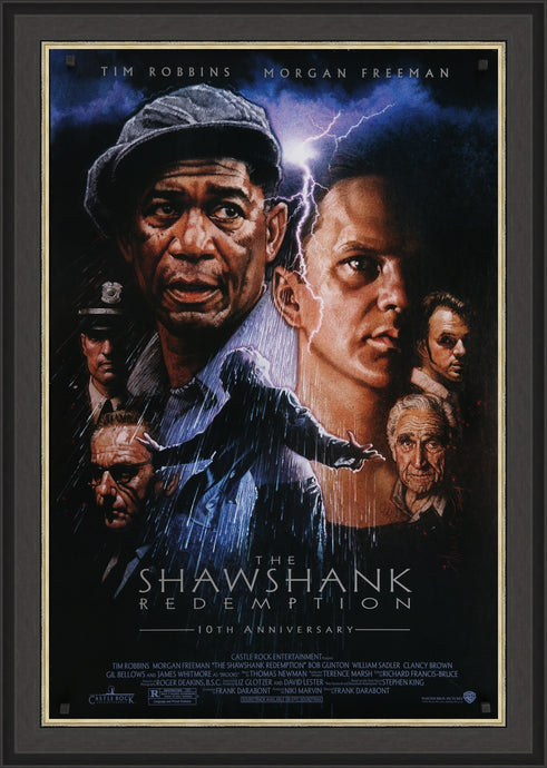 An original one sheet movie / film poster for The Shawshank Redemption