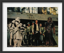 "Load image into Gallery viewer, A guaranteed original 11x14 theatrical still for 1983's ""Return of the Jedi"", third film of the original ""Star Wars"" trilogy."