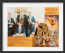 Load image into Gallery viewer, An original lobby card for the Monty Python film The Meaning of Life