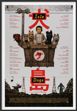 Load image into Gallery viewer, An original movie poster for the Wes Anderson film Isle of Dogs