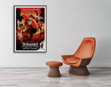 Load image into Gallery viewer, An original movie poster for the Disney / Pixar film The Incredibles