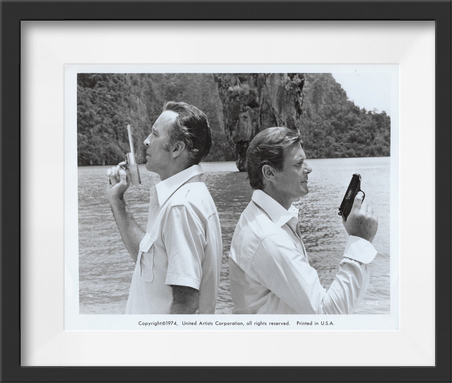 An original theatrical still for the James Bond film The Man With The Golden Gun