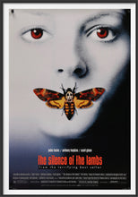 Load image into Gallery viewer, An original movie poster for the film The Silence of the Lambs