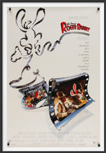 Load image into Gallery viewer, An original movie poster for the film Who Framed Roger Rabbit
