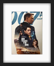 Load image into Gallery viewer, An original Japanese chirashi movie poster for the James Bond film No Time To Die
