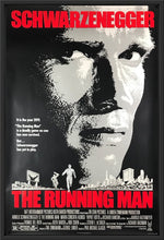 Load image into Gallery viewer, An original movie poster for the film The Running Man