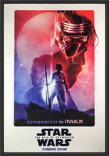 Load image into Gallery viewer, An original IMAX movie poster by Paul Shipper for Star Wars The Rise of Skywalker