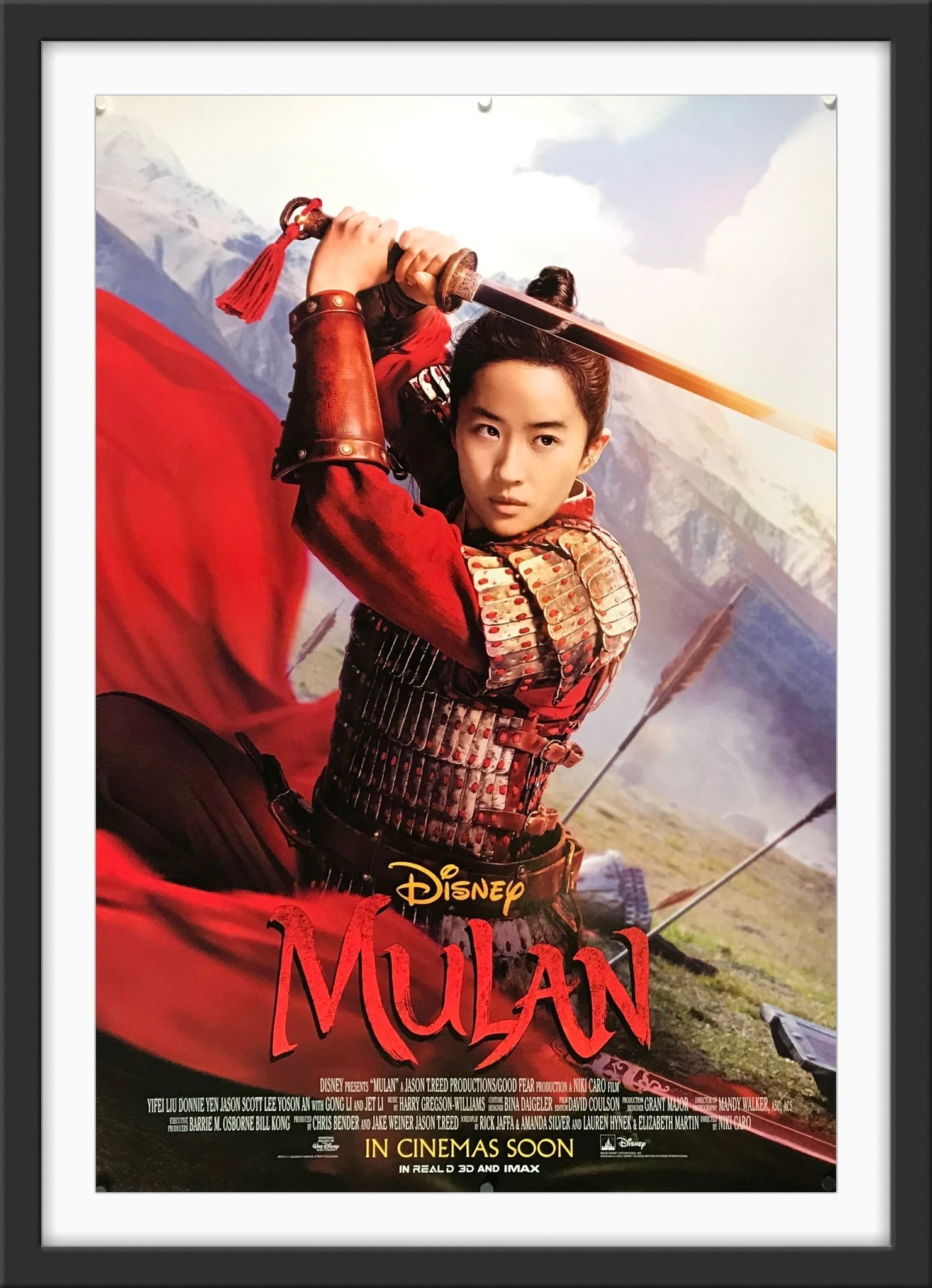 Mulan 2020 Original Movie Poster Art Of The Movies