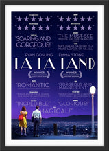 Load image into Gallery viewer, An original movie poster for the film La La Land