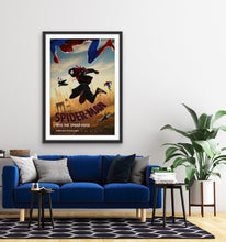 Load image into Gallery viewer, An original movie poster for the film Spider-Man Into The Spider-Verse