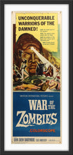 Load image into Gallery viewer, An original movie poster for the film War of the Zombies by Reynold Brown