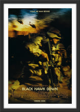 Load image into Gallery viewer, An original movie poster for the film Black Hawk Down