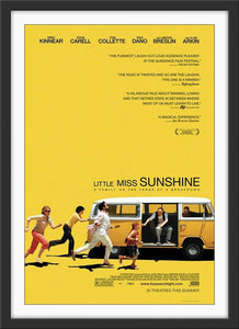 An original movie poster for the film Little Miss Sunshine