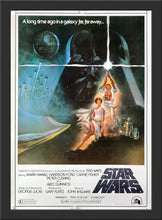 Load image into Gallery viewer, An original Japanese B2 movie poster for the Star Wars film A New Hope 1977