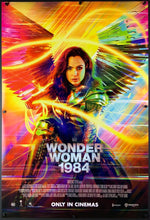 Load image into Gallery viewer, An original movie poster for the DC comics film Wonder Woman 1984