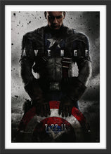 Load image into Gallery viewer, An original movie poster for the Marvel MCU film Captain America The First Avenger