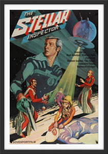 An original movie poster for the Russian sci-fi film The Stellar Inspector
