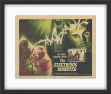 Load image into Gallery viewer, An original lobby card for the 1960 film The Electronic Monster