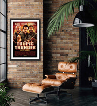 Load image into Gallery viewer, An original movie poster for the Ben Stiller film Tropic Thunder