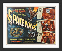 Load image into Gallery viewer, An original movie poster for the Hammer Horror sci-fi Spaceways