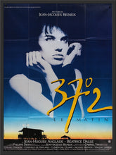 Load image into Gallery viewer, An original French movie poster for the film Betty Blue
