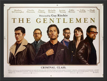 Load image into Gallery viewer, An original movie poster for the Guy Ritchie film The Gentlemen