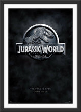 Load image into Gallery viewer, An original movie poster for the film Jurassic World
