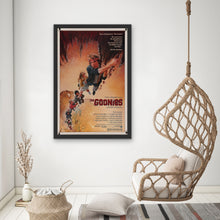Load image into Gallery viewer, An original movie poster for the Steven Spielberg and Richard Donner film The Goonies