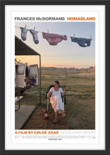 Load image into Gallery viewer, An original movie poster for the Chloe Zhao film Nomadland starring Frances McDormand