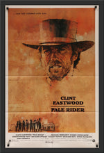 Load image into Gallery viewer, An original movie poster for the Clint Eastwood film Pale Rider