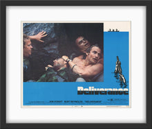 Load image into Gallery viewer, An original lobby card for the 1972 film Deliverance