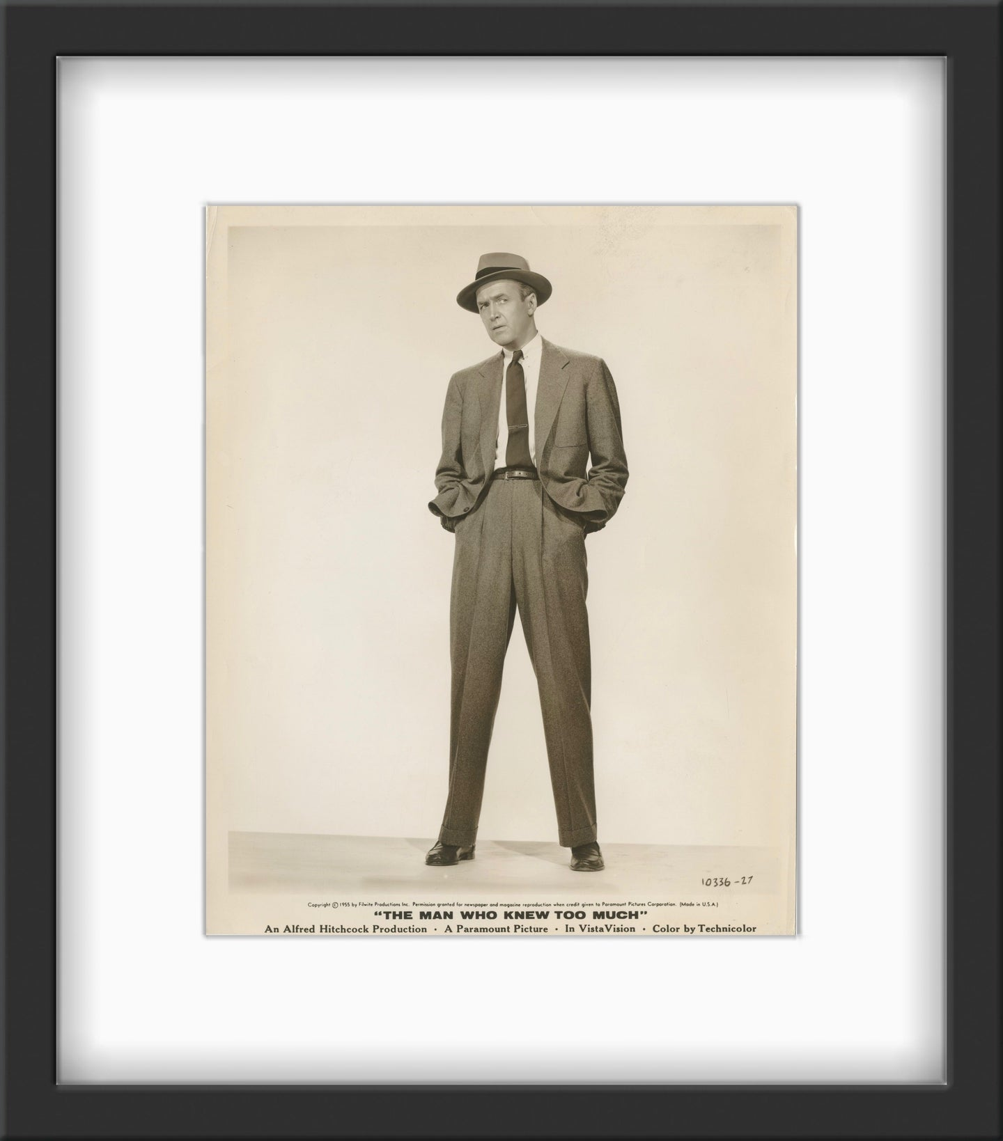An original theatrical still for the 1956 Hitchcok film The Man Who Knew Too Much