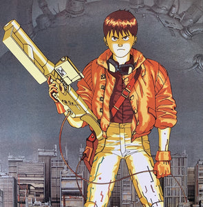 An original Japanese B2 movie poster for the film AKIRA