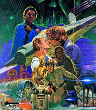 Load image into Gallery viewer, An original Japanese B2 movie poster for the Star Wars film The Empire Strikes Back