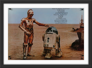 An original poster for The Story of Star Wars