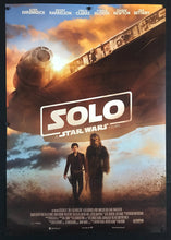 Load image into Gallery viewer, An original Italian move poster for the film Solo, a Star Wars story